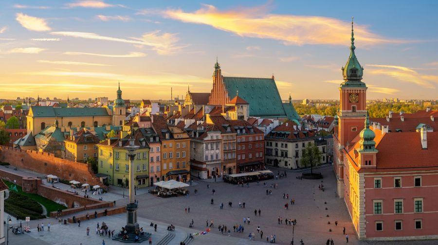 Cómo ir de Cracovia a Varsovia